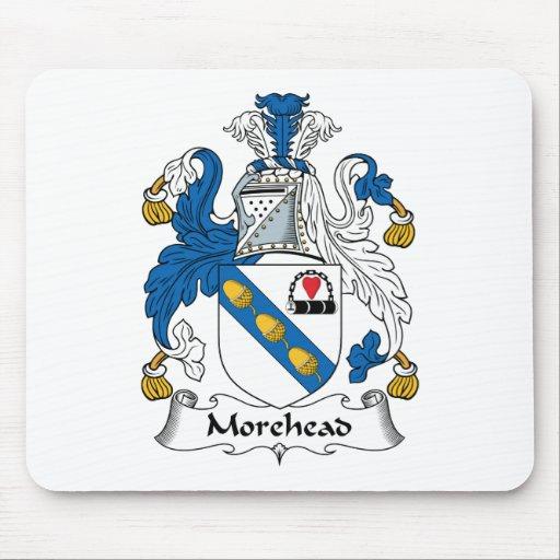 Escudo de la familia de Morehead Alfombrilla De Ratones