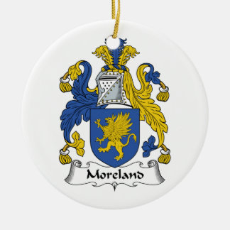 Escudo de la familia de Moreland Adorno