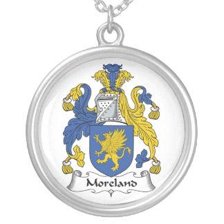 Escudo de la familia de Moreland Pendientes Personalizados