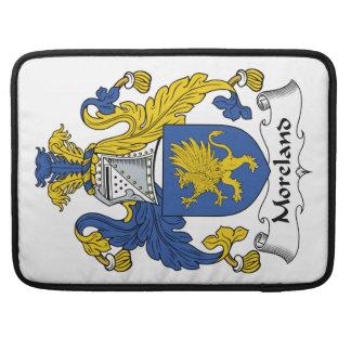 Escudo de la familia de Moreland Funda Para Macbooks