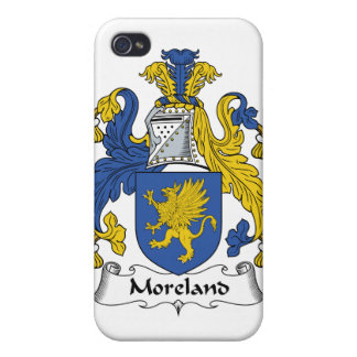 Escudo de la familia de Moreland iPhone 4 Carcasa