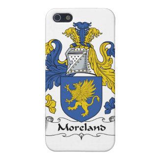 Escudo de la familia de Moreland iPhone 5 Carcasa