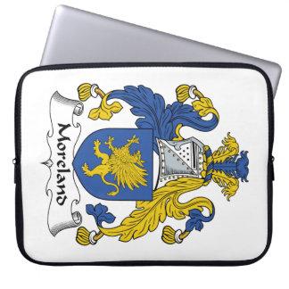 Escudo de la familia de Moreland Mangas Portátiles