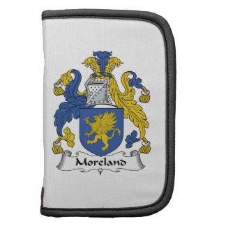 Escudo de la familia de Moreland Planificador