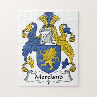 Escudo de la familia de Moreland Rompecabezas Con Fotos