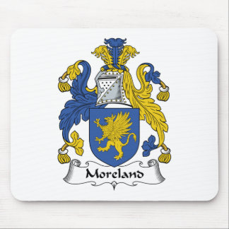Escudo de la familia de Moreland Tapete De Ratón