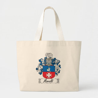 Escudo de la familia de Morelli Bolsas De Mano
