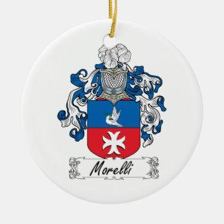 Escudo de la familia de Morelli Ornamento De Reyes Magos