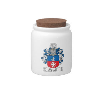Escudo de la familia de Morelli Jarra Para Caramelo