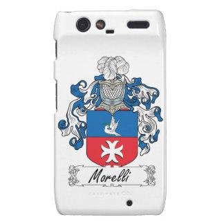 Escudo de la familia de Morelli Motorola Droid RAZR Carcasas