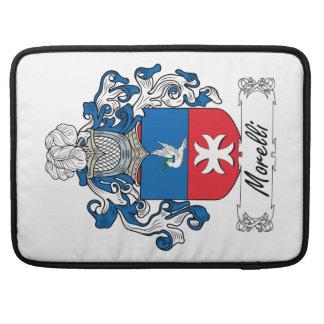 Escudo de la familia de Morelli Funda Para Macbooks