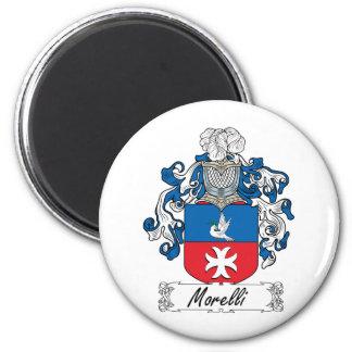 Escudo de la familia de Morelli Imán Redondo 5 Cm