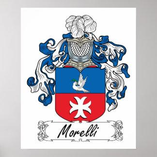 Escudo de la familia de Morelli Impresiones