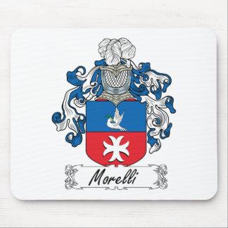 Escudo de la familia de Morelli Tapete De Ratón