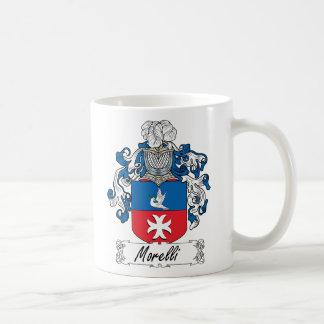 Escudo de la familia de Morelli Taza Clásica