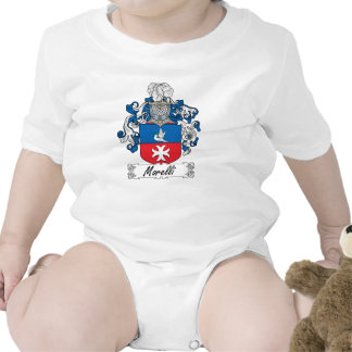 Escudo de la familia de Morelli Traje De Bebé