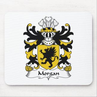 Escudo de la familia de Morgan Alfombrillas De Ratones