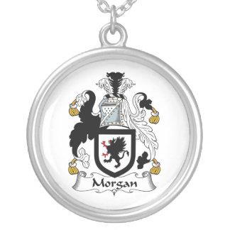 Escudo de la familia de Morgan Colgante