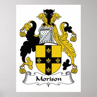 Escudo de la familia de Morison Impresiones