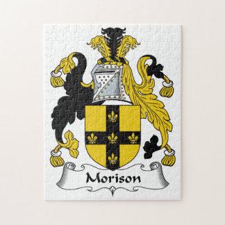 Escudo de la familia de Morison Puzzle Con Fotos