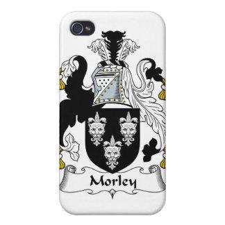Escudo de la familia de Morley iPhone 4 Cárcasas