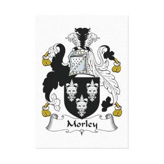 Escudo de la familia de Morley Lona Estirada Galerias