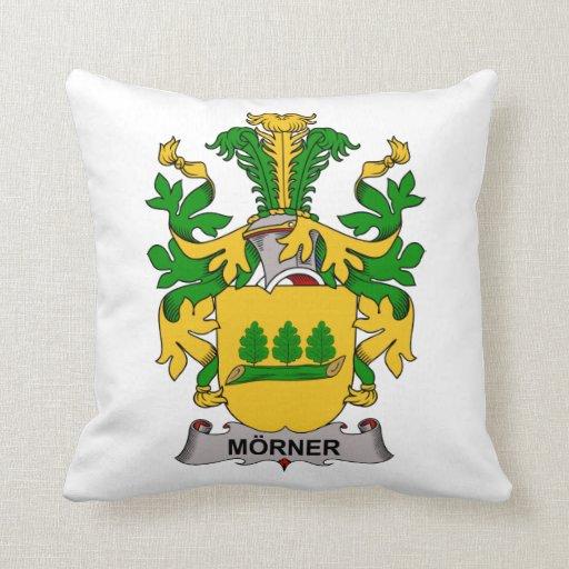 Escudo de la familia de Morner Cojines