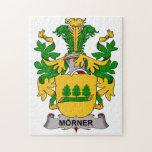 Escudo de la familia de Morner Puzzles Con Fotos