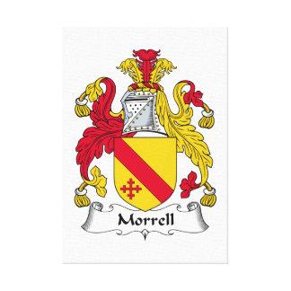 Escudo de la familia de Morrell Impresion En Lona