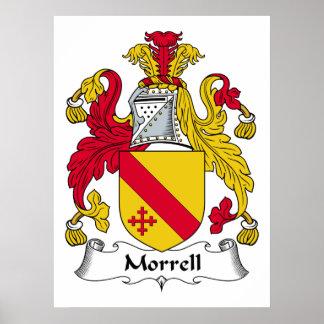 Escudo de la familia de Morrell Impresiones