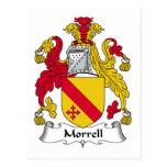 Escudo de la familia de Morrell Postal