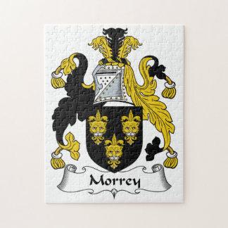 Escudo de la familia de Morrey Rompecabeza