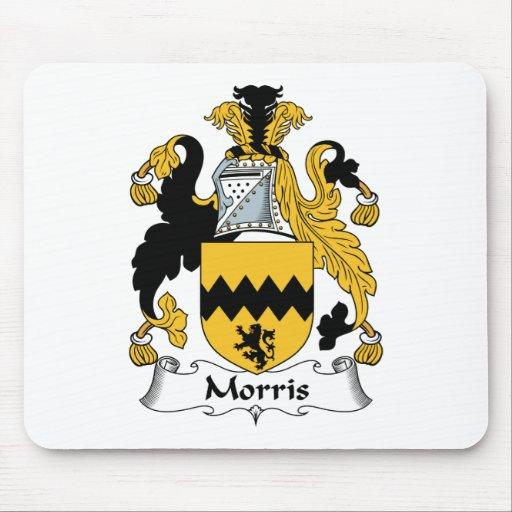 Escudo de la familia de Morris Mouse Pads