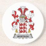 Escudo de la familia de Mortagh Posavasos Diseño