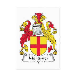 Escudo de la familia de Mortimer Lona Estirada Galerías