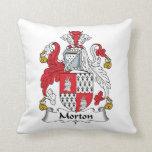 Escudo de la familia de Morton Almohadas
