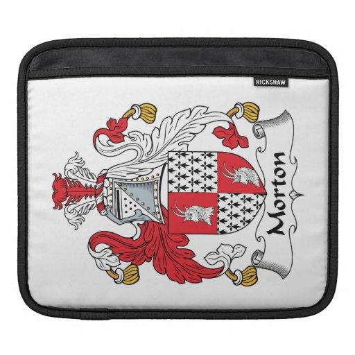 Escudo de la familia de Morton Fundas Para iPads