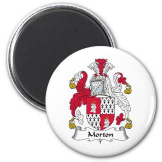 Escudo de la familia de Morton Imán Redondo 5 Cm