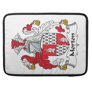 Escudo de la familia de Morton Fundas Para Macbook Pro