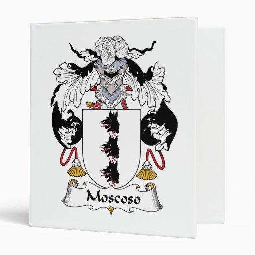 """Escudo de la familia de Moscoso Carpeta 1"""""""