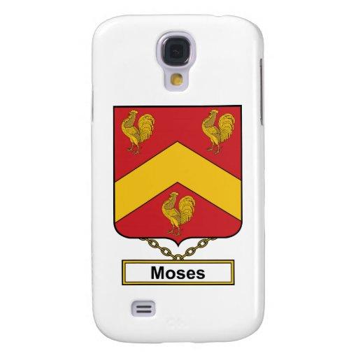 Escudo de la familia de Moses Funda Para Galaxy S4