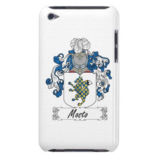 Escudo de la familia de Mosto iPod Touch Cárcasa
