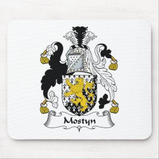 Escudo de la familia de Mostyn Alfombrilla De Ratón