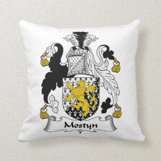Escudo de la familia de Mostyn Almohadas