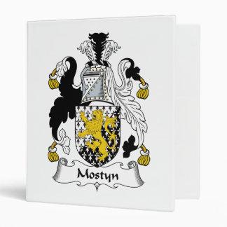 "Escudo de la familia de Mostyn Carpeta 1"""