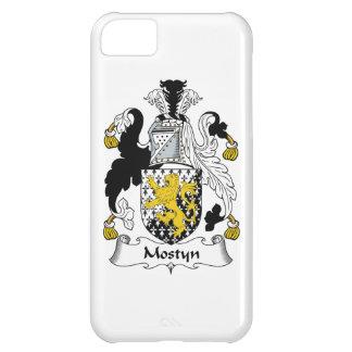 Escudo de la familia de Mostyn Funda Para iPhone 5C