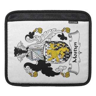Escudo de la familia de Mostyn Fundas Para iPads