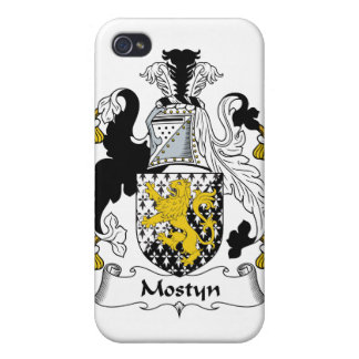 Escudo de la familia de Mostyn iPhone 4/4S Fundas