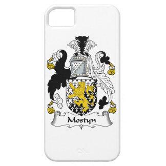 Escudo de la familia de Mostyn iPhone 5 Fundas