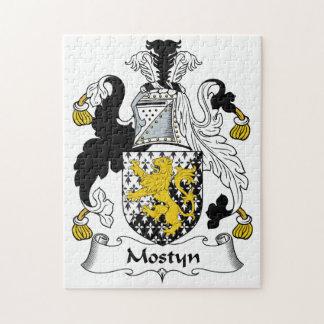Escudo de la familia de Mostyn Rompecabezas